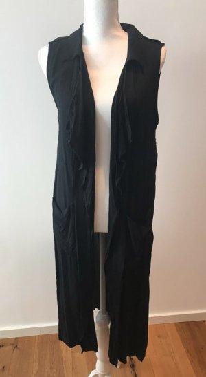 Langer cardigan von zara in schwarz