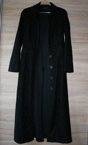 Damen wildleder mantel gebraucht kaufen nur 4 st bis 65 g nstiger - Schwarzer langer mantel ...
