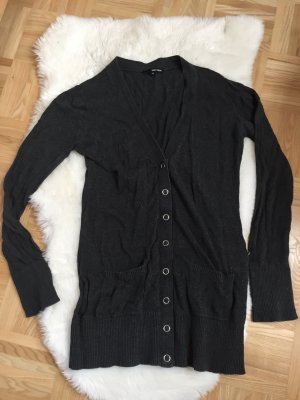 Tally Weijl Long Knitted Vest anthracite