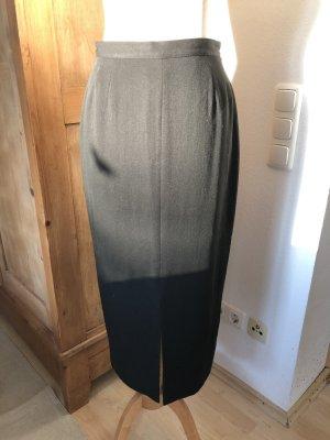 langer eleganter Rock, Größe 34, schwarz