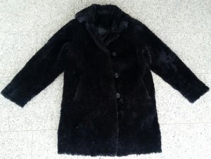Langer Fake Fur vintage Mantel oversized