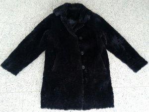 Langer Fake Fur vintage Mantel oversized