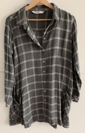 Zara Basic Flannel Shirt multicolored