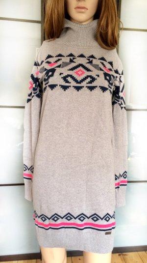 Adidas NEO Sweaterjurk grijs Katoen
