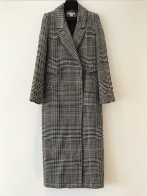 H&M Floor-Lenght Coat multicolored mixture fibre