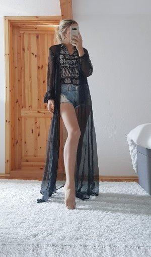Langer Kimono Chiffon Strand Trend Blogger Musthave