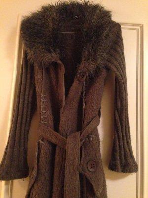 Langer Kuschel Mantel