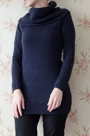 langer kuscheliger Pullover