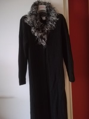 Knitted Coat black