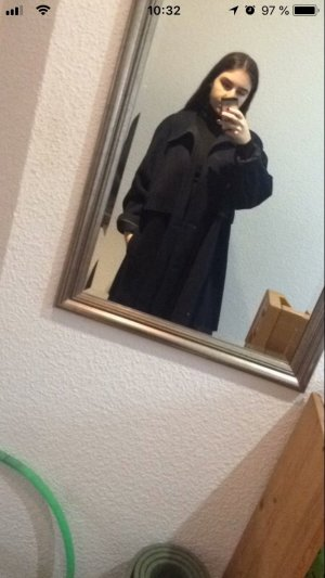 Vintage Oversized Coat dark blue-blue