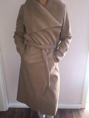 0039 Italy Winterjas beige Polyester