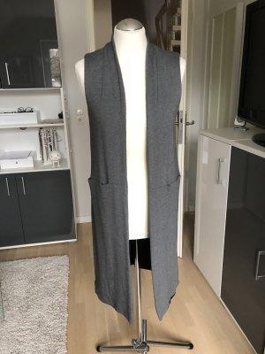 Langer Mantel ohne Ärmel Gr. 38