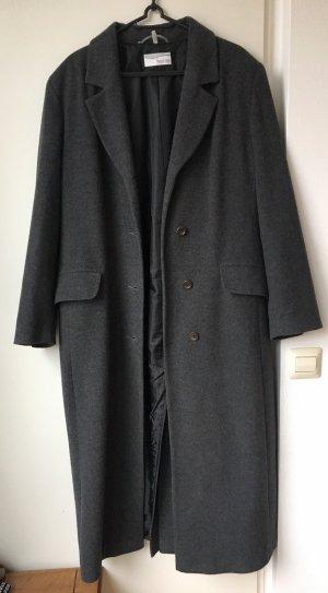 Langer Mantel von heine Dunkelgrau Wool Coat Oversize Trendmantel Schurwolle