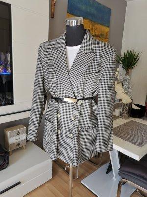 Marcona Winter Coat white-black