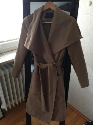 Langer Mantel von Only in Beige
