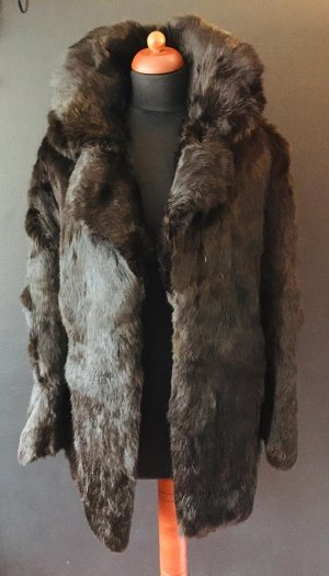 Pelt Coat black brown