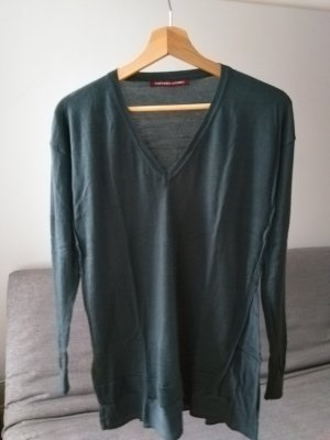 Comptoir des Cotonniers Sweater Dress petrol new wool