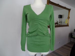 Expresso Lange jumper groen Gemengd weefsel