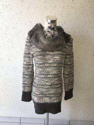 Langer Pullover; Größe 36