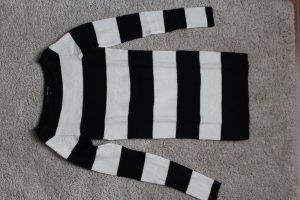 Tally Weijl Pull blanc-noir