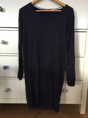 Langer Pullover, Kleid, Pulloverkleid -blau von edc