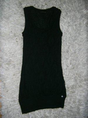 langer Pullunder, Longpullunder, Kleid, Levis, schwarz, Gr. 34