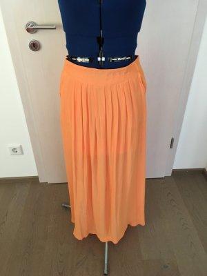 edc by Esprit Maxi Skirt light orange