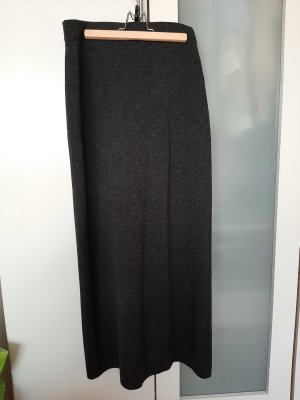 Wool Skirt dark grey-anthracite