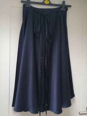 Zara Maxi Skirt dark blue