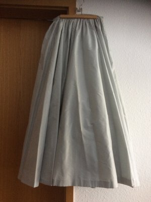 H&M Gonna in seta grigio chiaro