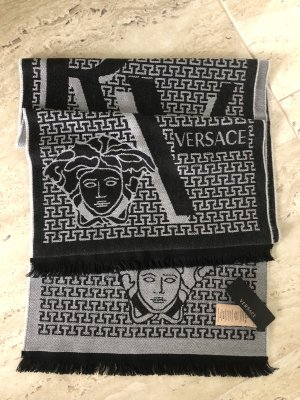 Gianni Versace Scarf black-light grey