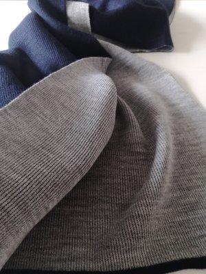 Langer Schal von Opus in grau/blau -neu- Adeli scraf