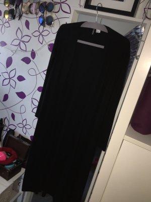 Langer schwarzer Cardigan