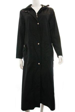 Langer schwarzer Mantel von Gil Bret
