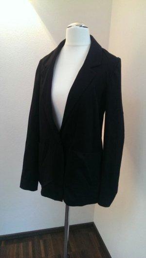 Langer, schwarzer Oversize-Blazer von H&M