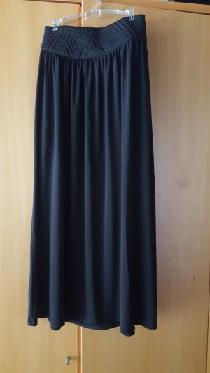 3 Suisses Maxi Skirt black polyester