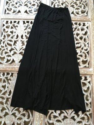 Maxi rok zwart Katoen