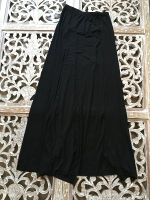 Maxi Skirt black cotton
