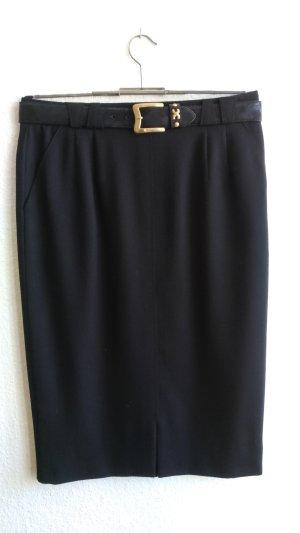 Basler Falda de talle alto negro