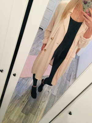 Amisu Giacca lunga rosa antico-rosa chiaro