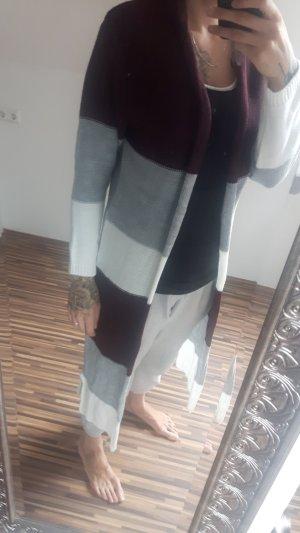 langer Strick cardigan