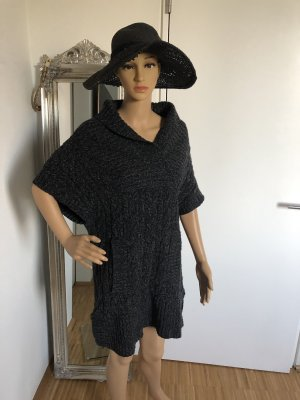 Juicy Couture Short Sleeve Knitted Jacket anthracite