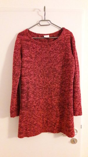 langer Strickpullover in XL