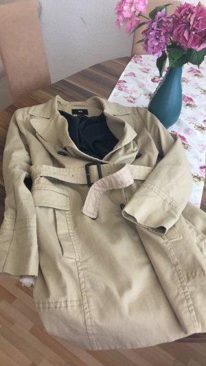 Langer Trenchcoat in beige von H&M in Größe 46