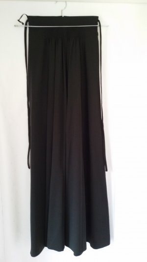 High Waist Skirt black polyester