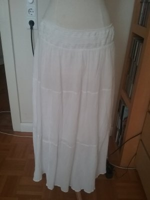 3 Suisses Maxi Skirt white