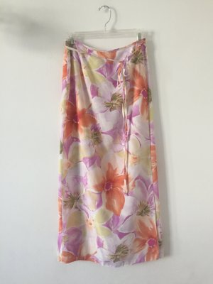 Wraparound Skirt multicolored viscose