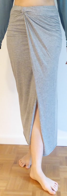 Line of Oslo Maxi Skirt grey