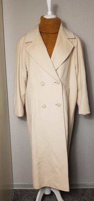 Manteau d'hiver crème