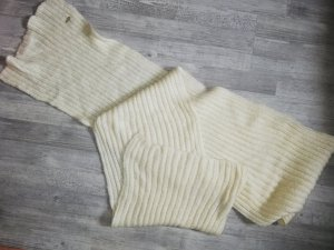 H&M Bufanda de lana blanco puro